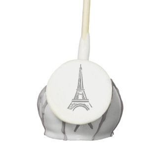 Eiffel Tower Theme Cake Pops Themed Party Favors