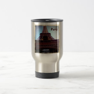 Eiffel Tower Travel Mug