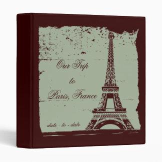 Eiffel Tower Travel Photo Binder