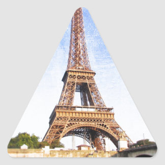 Eiffel Tower Triangle Sticker