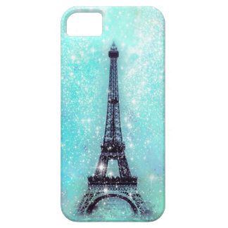 Eiffel Tower Turquoise iPhone SE/5/5s Case