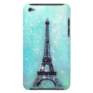 Eiffel Tower Turquoise iPod Touch Cover