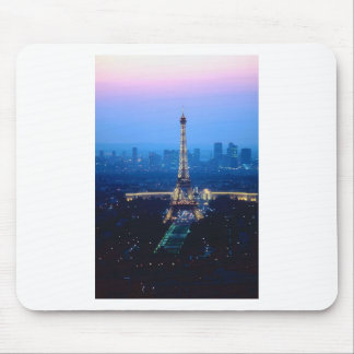 Eiffel Tower Twilight Mousepad