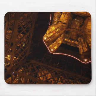 Eiffel Tower - Upskirt at night Mouse Pad