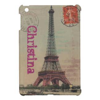 Eiffel Tower Vintage French iPad Mini Case