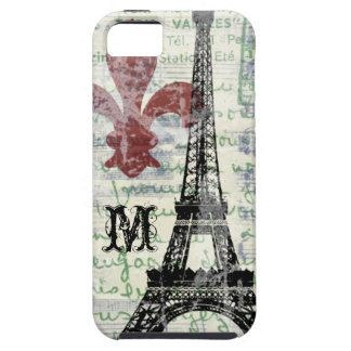 Eiffel Tower Vintage French iPhone Case iPhone 5 Cases