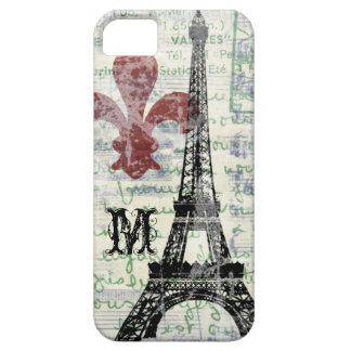 Eiffel Tower Vintage French iPhone Case iPhone 5 Case