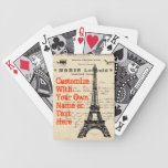 Eiffel Tower Vintage French Playing Cards