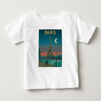 Eiffel Tower vintage Paris Baby T-Shirt
