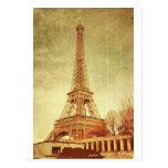 Eiffel Tower Vintage Postcards