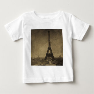 Eiffel Tower Vintage Stereoview Baby T-Shirt