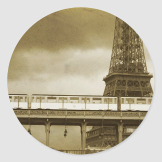 Eiffel Tower Vintage Sticker