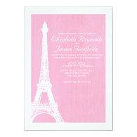 Eiffel Tower Wedding Invitations 5