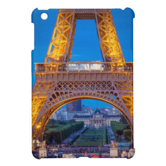 Eiffel Tower with Ecole Militaire beyond iPad Mini Covers