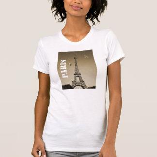 Eiffel Tower Women's Apparel Fine Jersey T-Shirt