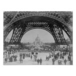 Eiffel Tower - World's Fair 1889 Poster
