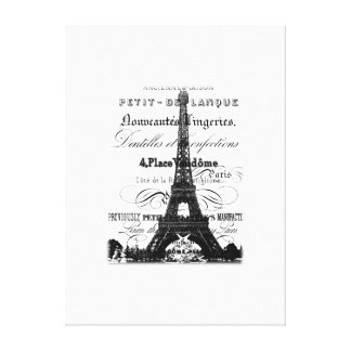 Eiffel Tower Wrapped Canvas_Large Canvas Print