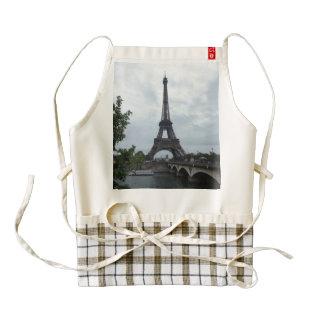Eiffel Tower Zazzle HEART Apron