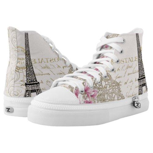 Eiffel Tower Zipz Shoes
