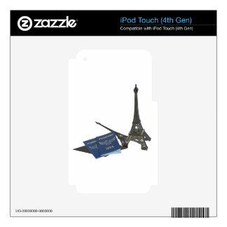 EiffelTowerPassports032215.png Skin For iPod Touch 4G