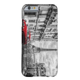 Eiffle Tower Black, White and Red. Barely There iPhone 6 Case