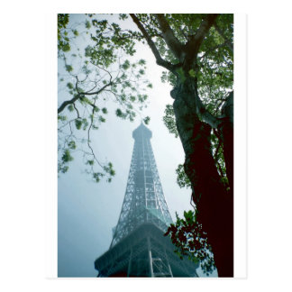 Eiffle Tower Postcard