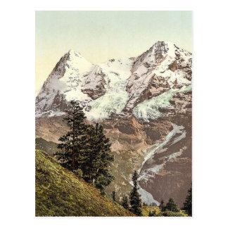 Eiger and Monch Bernese Oberland Switzerland vin Postcards