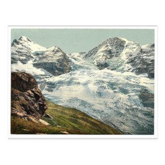 Eiger Glacier, Bernese Oberland, Switzerland vinta Postcard