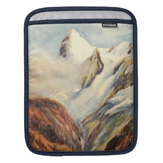Eiger Mountains in the Bernese Alps iPad Sleeve