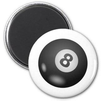 Eight - 8 - Ball Refrigerator Magnets