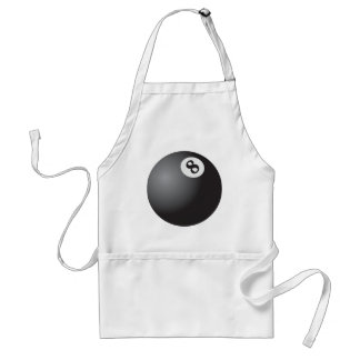Eight Ball Adult Apron