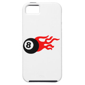 Eight Ball and Flames iPhone SE/5/5s Case
