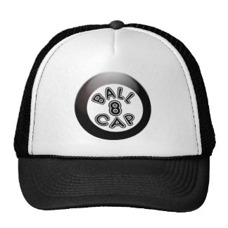 Eight-ball Cap Trucker Hat