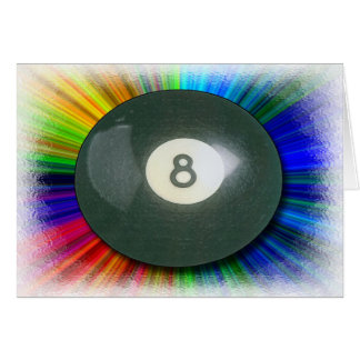 Eight Ball Card