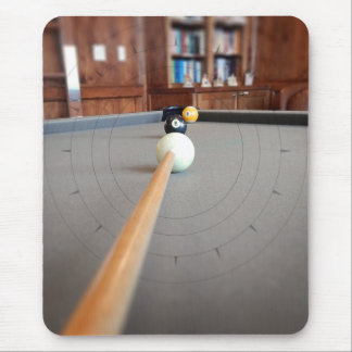 Eight Ball Corner Pocket Mouse Pad