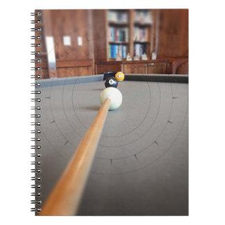 Eight Ball Corner Pocket Notebook