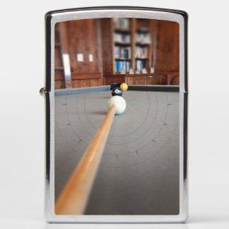 Eight Ball Corner Pocket Zippo Lighter