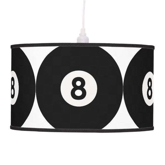 Eight Ball Design Lamp Shade