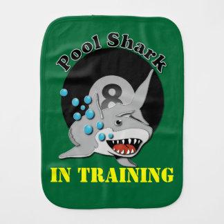 Eight Ball Future Pool Shark In Training Burp Cloth