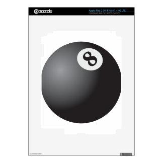 Eight Ball iPad 3 Decals
