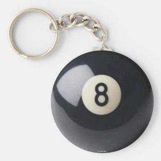 Eight-Ball Keychain