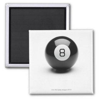 Eight ball fridge magnet