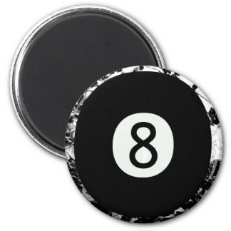 Eight-Ball Refrigerator Magnet