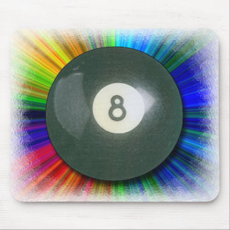 Eight Ball Mouse Pad