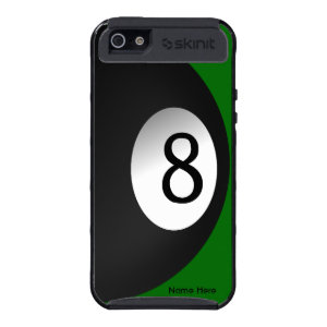 Eight Ball Personal Billiards iPhone 5 Case