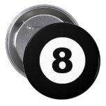 Eight Ball Pin
