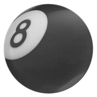 Eight Ball Plate