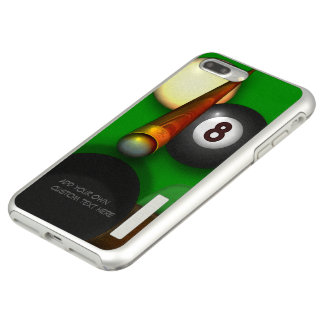 Eight Ball Pool and Billiards Personalized Incipio DualPro Shine iPhone 8 Plus/7 Plus Case