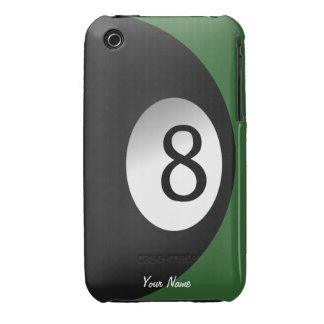 Eight Ball Pool Game Custom iPhone 3G Case iPhone 3 Case