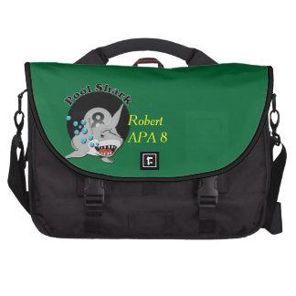 Eight Ball Pool Shark Laptop Bags